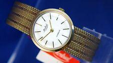 VINTAGE Orologio meccanico svizzero montrial 1960S NOS NEW OLD STOCK + DUPLO-Fix
