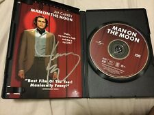 Jim Carrey Signed Man On The Moon Dvd Proof