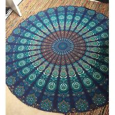Women Indian Mandala Round Beach Boho Gypsy Bikini Cover Scarf Hippie Swimwear