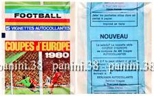 "RARE !! Pochette ""COUPES D'EUROPE 1980"" packet, tüte, bustina PANINI BENJAMIN"