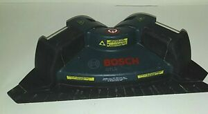 BOSCH GTL2 laser square works good comes with batteries layout floors