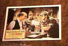 LOST COMMAND 1966 LOBBY CARD #4 ANTHONY QUINN