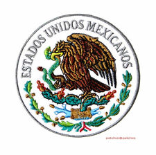 Parche Bordado Escudo de Mexico Patch Mexican Seal - High Quality