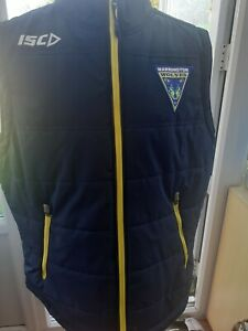 Warrington Wolves Quilted Gilet  Size  XL Adult