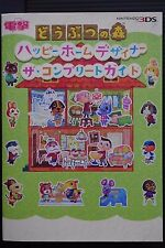 JAPAN Animal Crossing: Happy Home Designer The Complete Guide Book