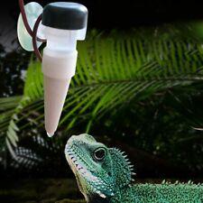 Reptile Drinking Water Dripper Chameleon Lizard Dispenser Terrarium Habitats UK