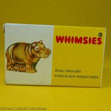 Wade Whimsies (1971/84) Retail Storage Box (1973/Set #4) - #20 Hippo