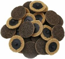 New Listing50pcs 2 Inch Coarse Grit Roll Lock Surface Conditioning Die Grinder Sanding Disc
