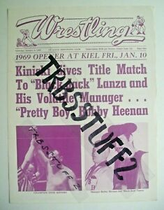 ST LOUIS WRESTLING PROGRAM-1/10/69 NWA CHAMP KINISKI-LANZA! DORY JR-WALDO! WATTS