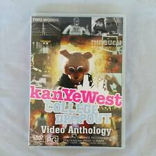 Kanye West College Dropout: Video Anthology  (DVD, Apr-2005, 2 Discs) FREE POST