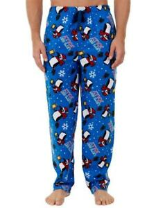 "FRUIT OF THE LOOM® Big Men's 5XL ""Let's Get Jolly"" Christmas Sleep Pants NWT"