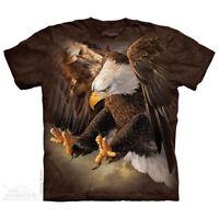 AMERICAN BALD EAGLE TALON T Shirt The Mountain FREEDOM EAGLE BIRD Tee S-4XL 5XL