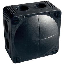 10 x  Wiska Combi Black IP66 Weatherproof Junction Boxes 308/5  - 60580