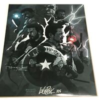 BAM BOX EXCLUSIVE MARVEL AVENGERS INFINITY WAR 8x10 1UP VARIANT LIMITED TO 500