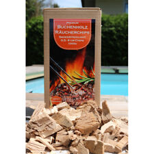 SmoFi Räucherchips Wood / Smoker Buchenholz Räucherholz Buchenchips zum Räuchern