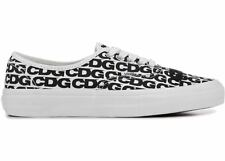 DS New Vans Authentic Commes des Garcons CDG White Black 2018 sz 9.5
