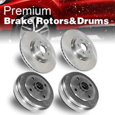 Suzuki Esteem 1.6L 99-02 Drill Slot Brake Rotors FRONT