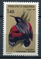 TIMBRE ANDORRE FRANCE NEUF  N° 295  **   OISEAUX  TICHODROMA MURARIA