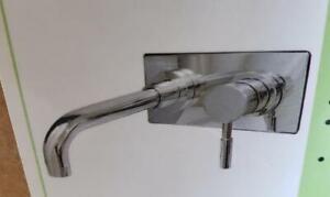 = Kingston Brass KS8111DL Concord Wall Mount 1 Handle Vessel Bathroom Faucet