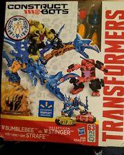 New Transformers Construct Bots BUMBLEBEE vs Decepticon STINGER