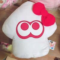 SEGA Splatoon 2 Sanrio Characters BIG IKA Squid cushion Hello Kitty Plush Stuffe