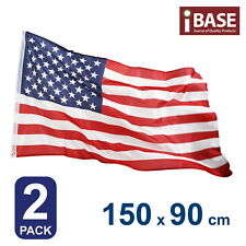 2x US USA United States America Flag National Outdoor American Stars and Stripes