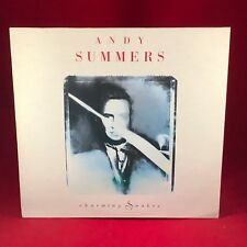 ANDY SUMMERS  Charming Snakes 1990 Vinyl LP EXCELLENT CONDITION Police