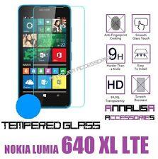 PELLICOLA IN VETRO TEMPERATO PER NOKIA LUMIA 640 XL LTE TEMPERED GLASS
