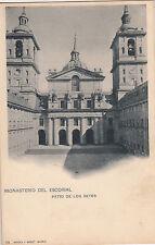 BF17590 monastrio del escorial patio de los reyes  spain front/back image