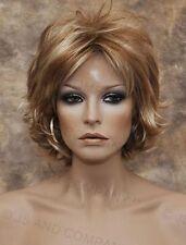 Wonderful EveryDay Short N Sassy wig full bangs Strawberry Blonde NLLx 27-613