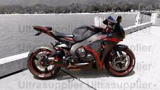 Gloss Black w/ Red Fairing Bodywork Injection for 2008-2011 Honda CBR 1000 RR