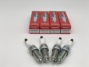 4 PCS 12290-R48-H01 ILZKR7B-11S IRIDIUM SPARK PLUGS NGK 5787 FITS HONDA 🔥.