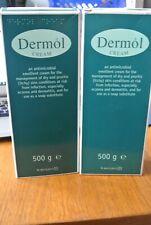 X2 Dermol Cream 500g An Antimicrobial Cream For Dry Skin, Eczema And Dermatitis.