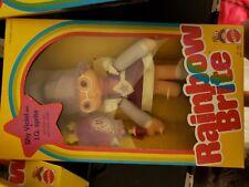 New Mattel Shy Violet & Iq Sprite Rainbow Brite Doll In Box