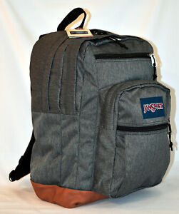 New JanSport Cool Student Laptop Backpack -- Black White Herringbone