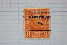 US used precancel Harrisburg PA. type L7