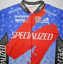 Mens Vintage Aussie SPECIALIZED Cycling Jersey size XL