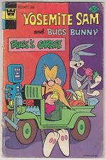 Looney Tunes YOSEMITE SAM and Bugs Bunny #39 Whitman Western Publishing 1976