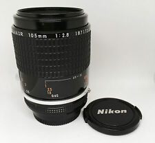 【EXC++++】Nikon Ai-S Micro-NIKKOR 105mm f/2.8 Lens From Japan