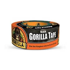 Gorrila Tape Black Duct Tape Heavy Duty Thick Weather Resistant 1.88in x 12yd