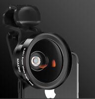2in1 Fisheye Wide Angle Macro Universal Clip on Mobile Phone Camera Lens Kit