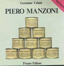 PIERO MANZONI* GERMANO CELANT**PREARO EDITORE REPRINT