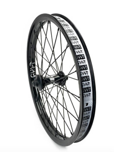 CULT CREW V2 FRONT WHEEL WHEEL BLACK COMPLETE BMX  BIKE BIKES PRO ODYSSEY