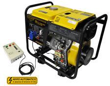 Generatore di corrente 6 kw diesel - avviamento elettrico - sistema ATS
