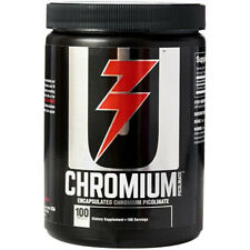 Universal Nutrition Chromium Picolinate - 100 Capsules - Enhances Metabolism