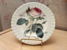 """Roy Kirkham Fine Bone China Porcelain """"Redoute Roses"""" Dessert  Plate 8"""""""