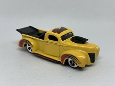 1997 Hot Wheels Yellow '40 Ford Haulin' 40