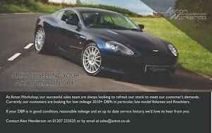 2008 Aston Martin DB9 WANTED