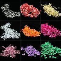100-10000pcs 8mm Acrylic Crystal Diamond Confetti Weddin Table Scatter Party