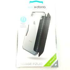 X-doria iPhone 7 8 Engage Folio Case Black New Free Shipping 3X170718A